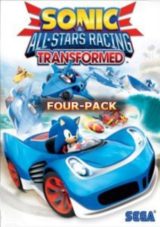 Sonic and SEGA All-Stars Racing Transformed - Four Pack