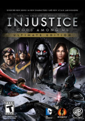 [Cover] Injustice: Gods Among Us Ultimate Edition