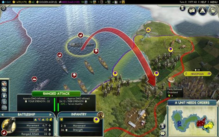 Screenshot 2 - Sid Meier's Civilization V
