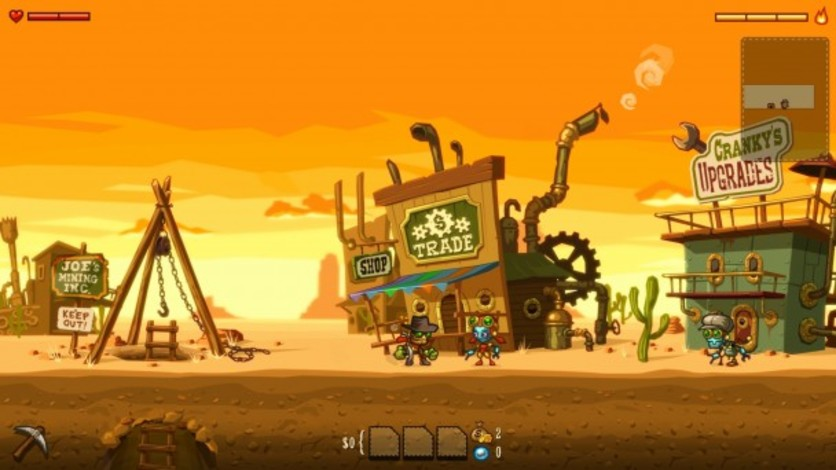 Screenshot 2 - SteamWorld Dig