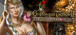 [Cover] Grotesque Tactics 2 - Dungeons & Donuts