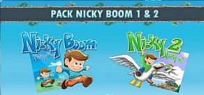 [Cover] Pack Nicky Boom 1 & 2