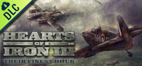 [Cover] Hearts of Iron 3 - Their Finest Hour