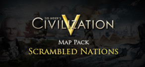 [Cover] Sid Meier's Civilization V: Scrambled Nations Map Pack