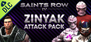 [Cover] Saints Row IV - Zinyak Attack Pack