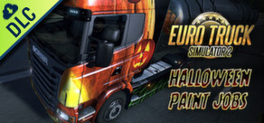 [Cover] Euro Truck Simulator 2: Halloween Paint Jobs Pack