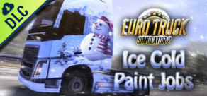 [Cover] Euro Truck Simulator 2: Ice Cold Paint Jobs Pack