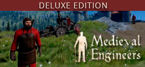 [Cover] Medieval Engineers Deluxe Edtion