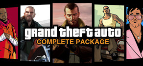[Cover] Grand Theft Auto Complete Package