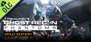 [Cover] Tom Clancy's Ghost Recon Phantoms - Gold Edition