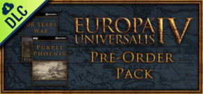[Cover] Europa Universalis IV: Pre-Order Pack