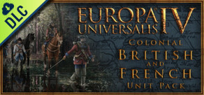 [Cover] Europa Universalis IV: Colonial British and French Unit Pack