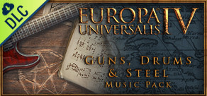 [Cover] Europa Universalis IV: Guns, Drums and Steel Music Pack