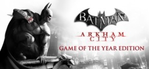 [Cover] Batman Arkham City - Game of the Year Edition