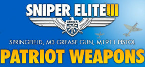 [Cover] Sniper Elite III - Patriot Weapons Pack