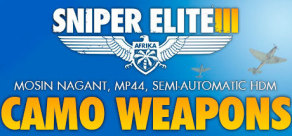 [Cover] Sniper Elite III - Camouflage Weapons Pack