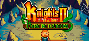 [Cover] Knights of Pen and Paper 2 - Here Be Dragons
