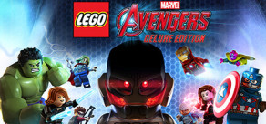 [Cover] LEGO Marvel's Avengers Deluxe Edition
