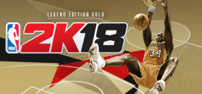 [Cover] NBA 2K18 - Legend Edition Gold