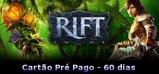 RIFT Cartão Pré-Pago (60 dias)