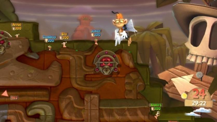Screenshot 2 - Worms Clan Wars