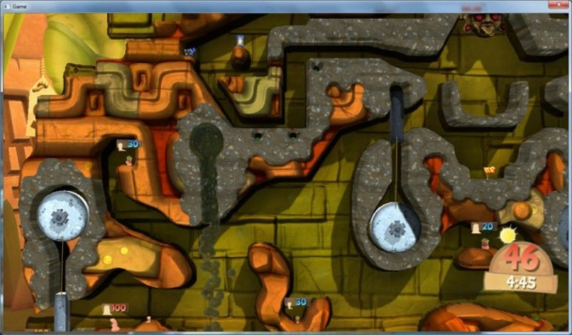 Screenshot 5 - Worms Clan Wars