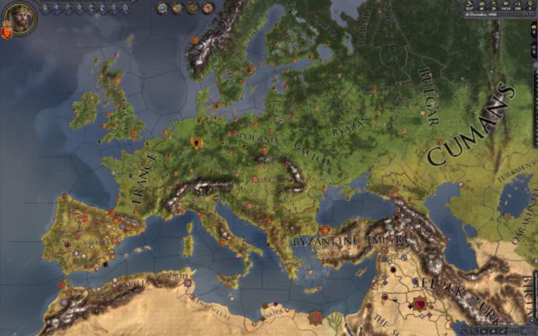 Screenshot 1 - Crusader Kings II: Songs of Faith