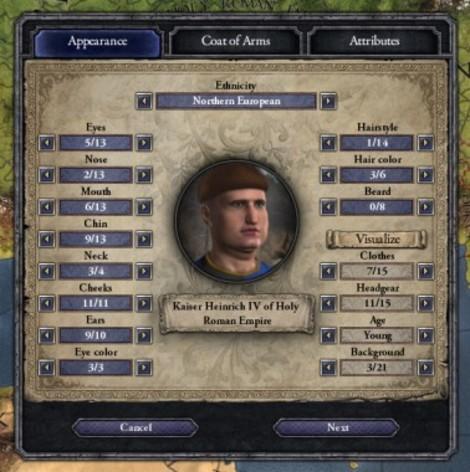 Screenshot 4 - Crusader Kings II: Ruler Designer
