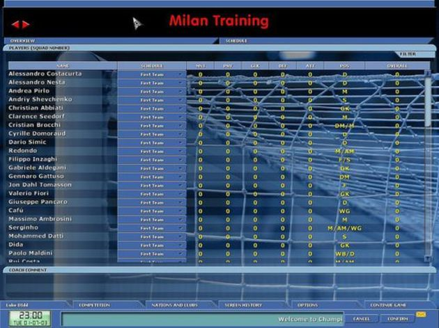 Screenshot 3 - Championship Manager 5