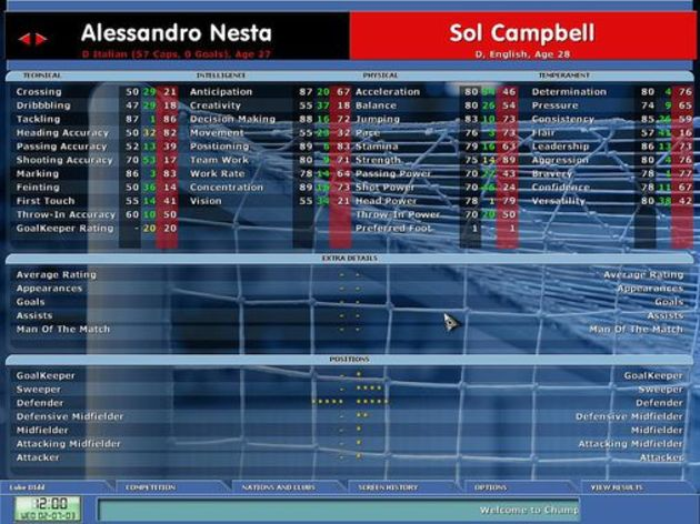 Screenshot 4 - Championship Manager 5