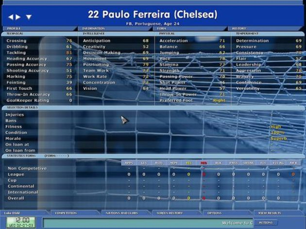 Screenshot 2 - Championship Manager 5