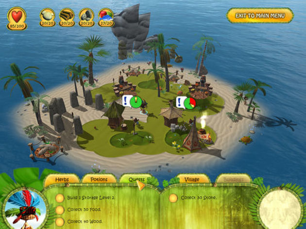 Screenshot 3 - Shaman Odyssey: Tropic Adventure