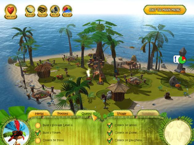 Screenshot 4 - Shaman Odyssey: Tropic Adventure