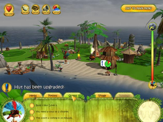 Screenshot 2 - Shaman Odyssey: Tropic Adventure