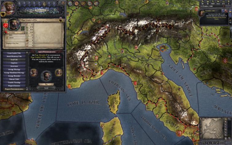 Screenshot 2 - Crusader Kings II
