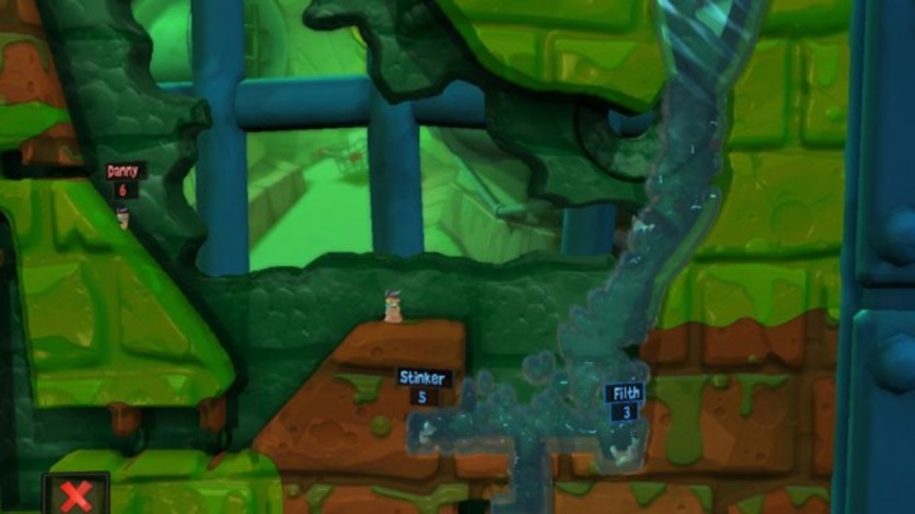 Screenshot 3 - Worms Revolution