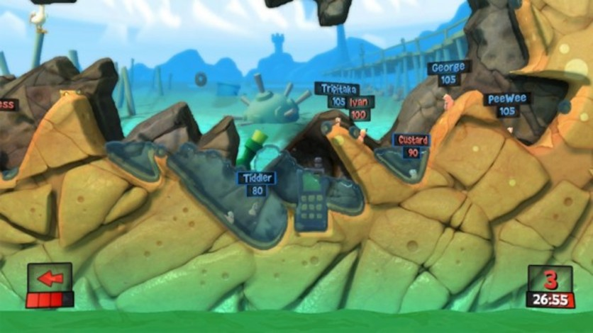 Screenshot 7 - Worms Revolution