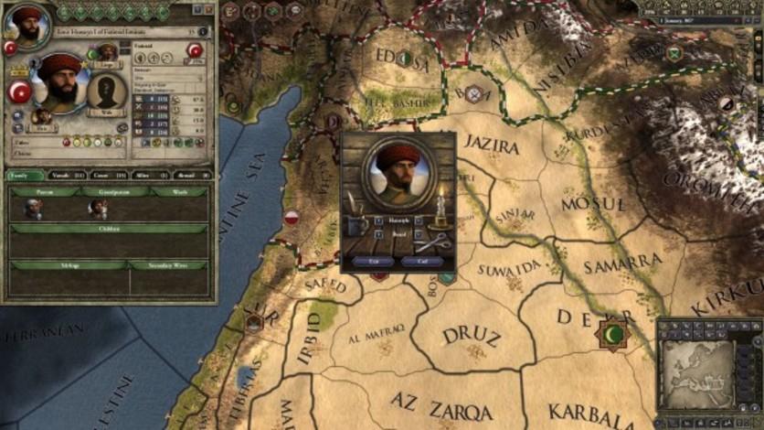 Screenshot 8 - Crusader Kings II: Customization Pack