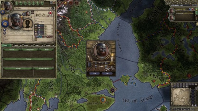 Screenshot 3 - Crusader Kings II: Customization Pack