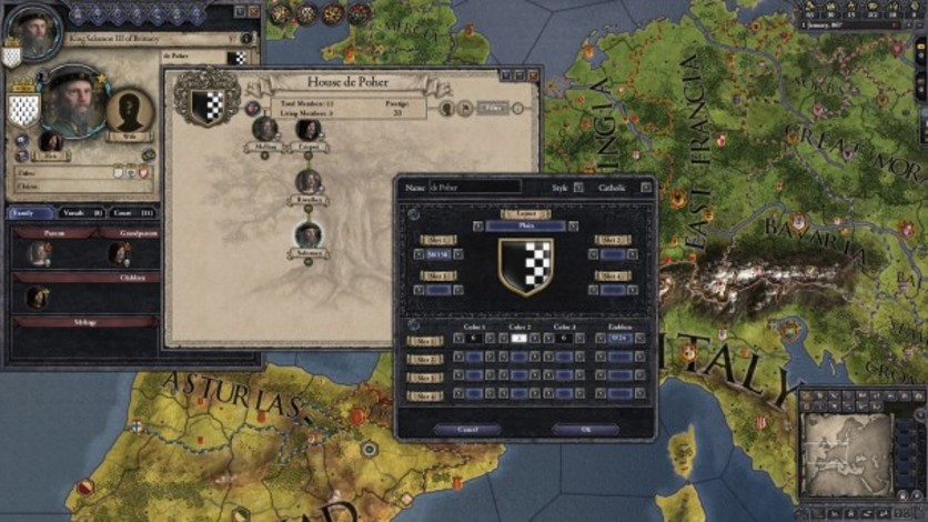Screenshot 5 - Crusader Kings II: Customization Pack