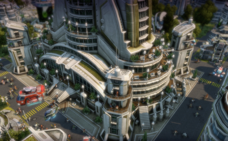 Screenshot 3 - Anno 2070