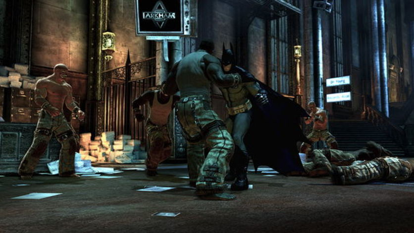 Screenshot 4 - Batman Arkham Asylum GOTY