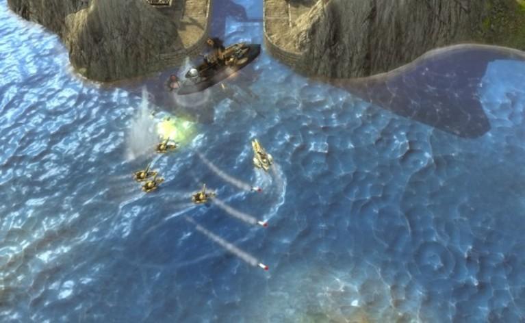 Screenshot 2 - Naval Warfare
