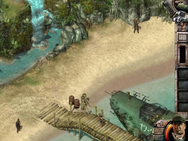 Screenshot 6 - Commandos 2: Men of Courage