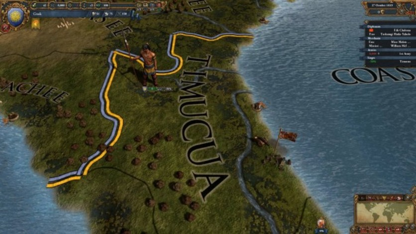 Screenshot 6 - Europa Universalis IV: Conquest of Paradise