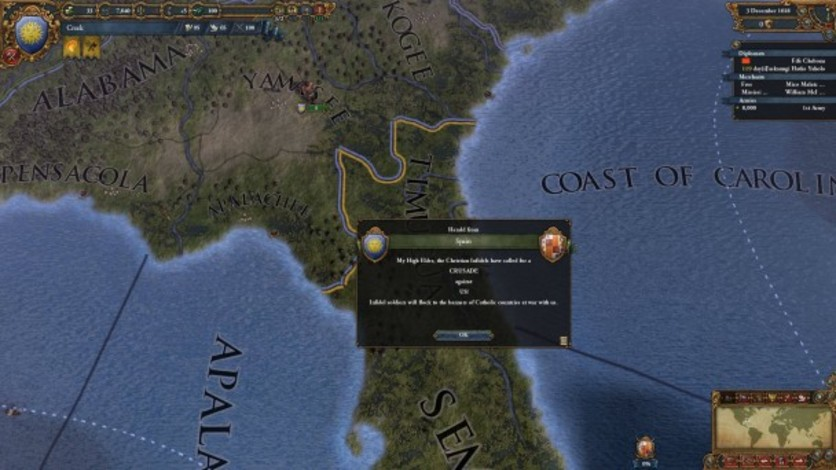 Screenshot 2 - Europa Universalis IV: Conquest of Paradise