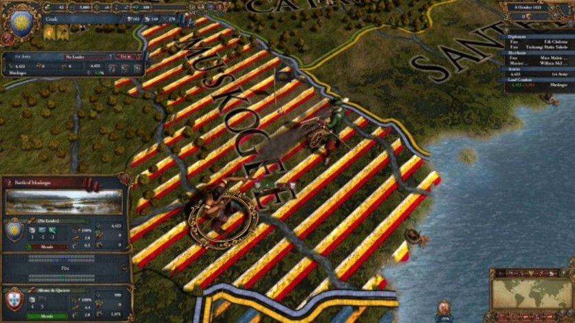 Screenshot 5 - Europa Universalis IV: Conquest of Paradise