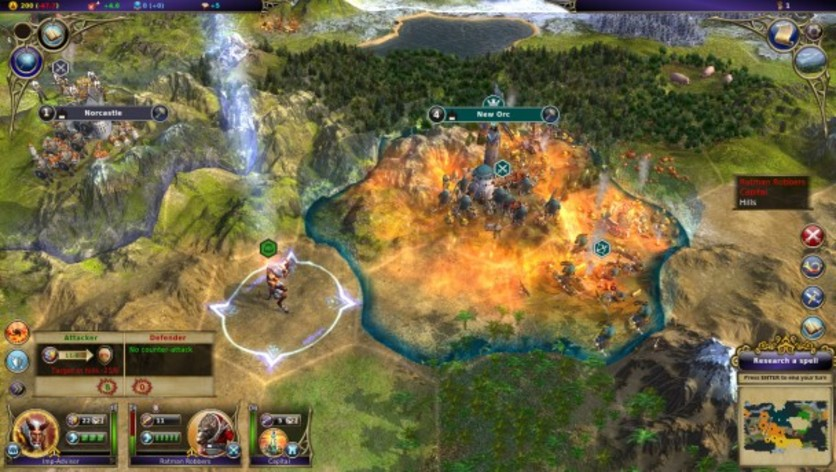 Screenshot 4 - Warlock: Master of the Arcane - Powerful Lords