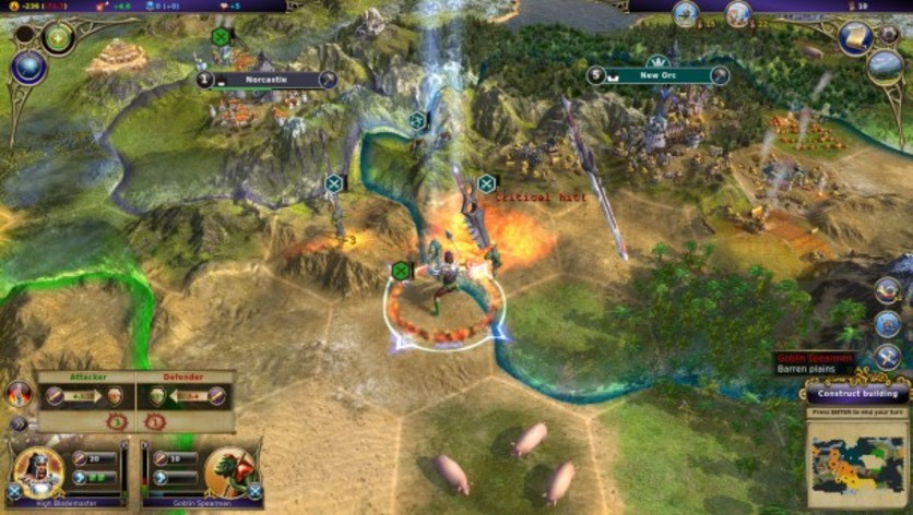 Screenshot 5 - Warlock: Master of the Arcane - Powerful Lords