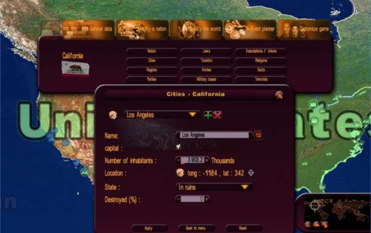 Screenshot 4 - Masters of the World - Geo-Political Simulator 3 - Modding Tool Add-on